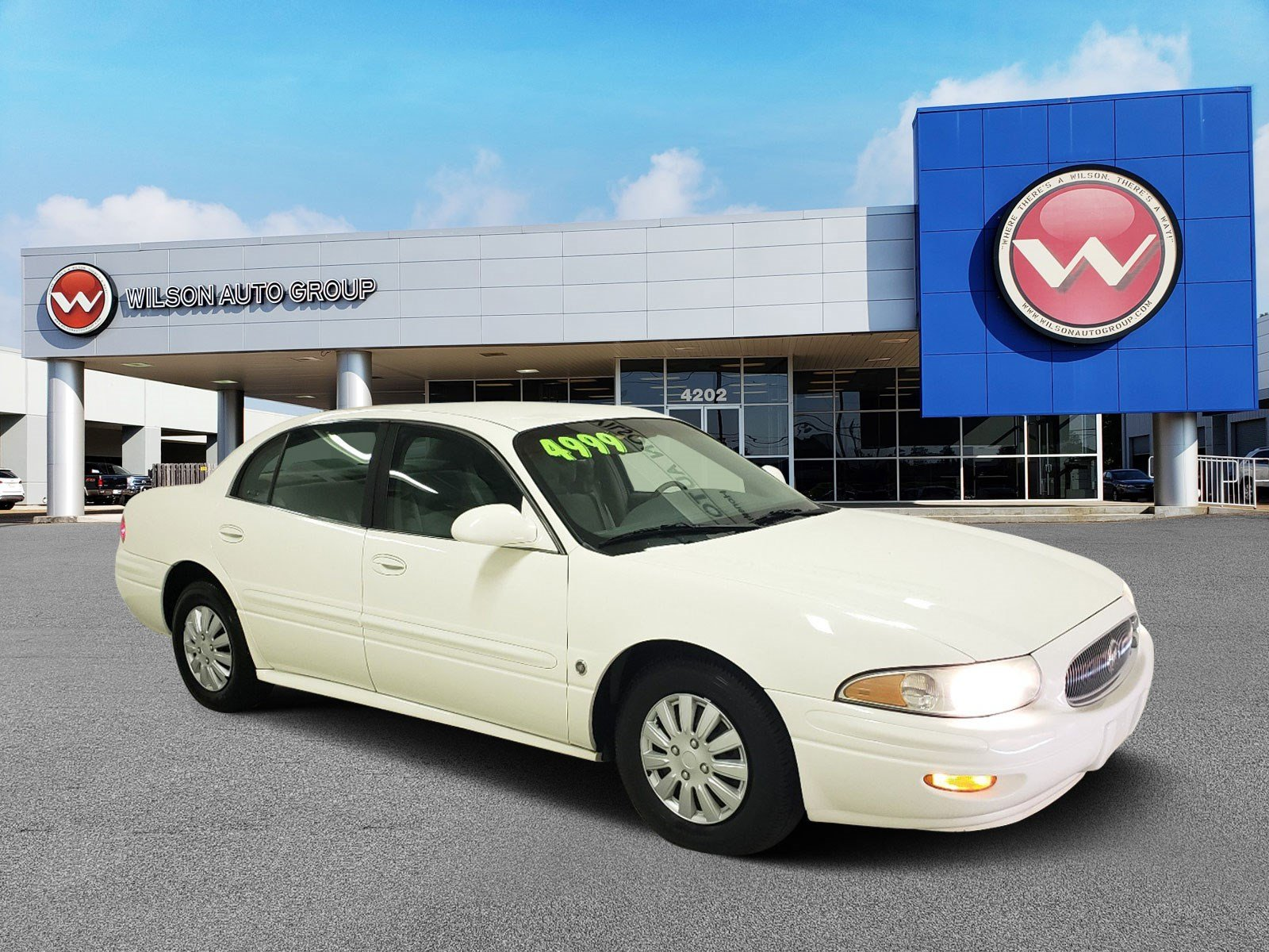 Pre Owned 2003 Buick LeSabre Custom 4dr Car in Jackson 2459